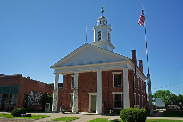 Historic Metamora Courthouse. Metamora, IL